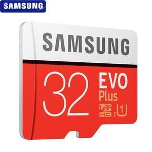Image 4 - SAMSUNG tarjeta Microsd 256G, 128GB, 64GB, 32GB, 100 Mb/s, Class10, U3, U1, SDXC, tarjeta de memoria EVO +, tarjeta Flash TF