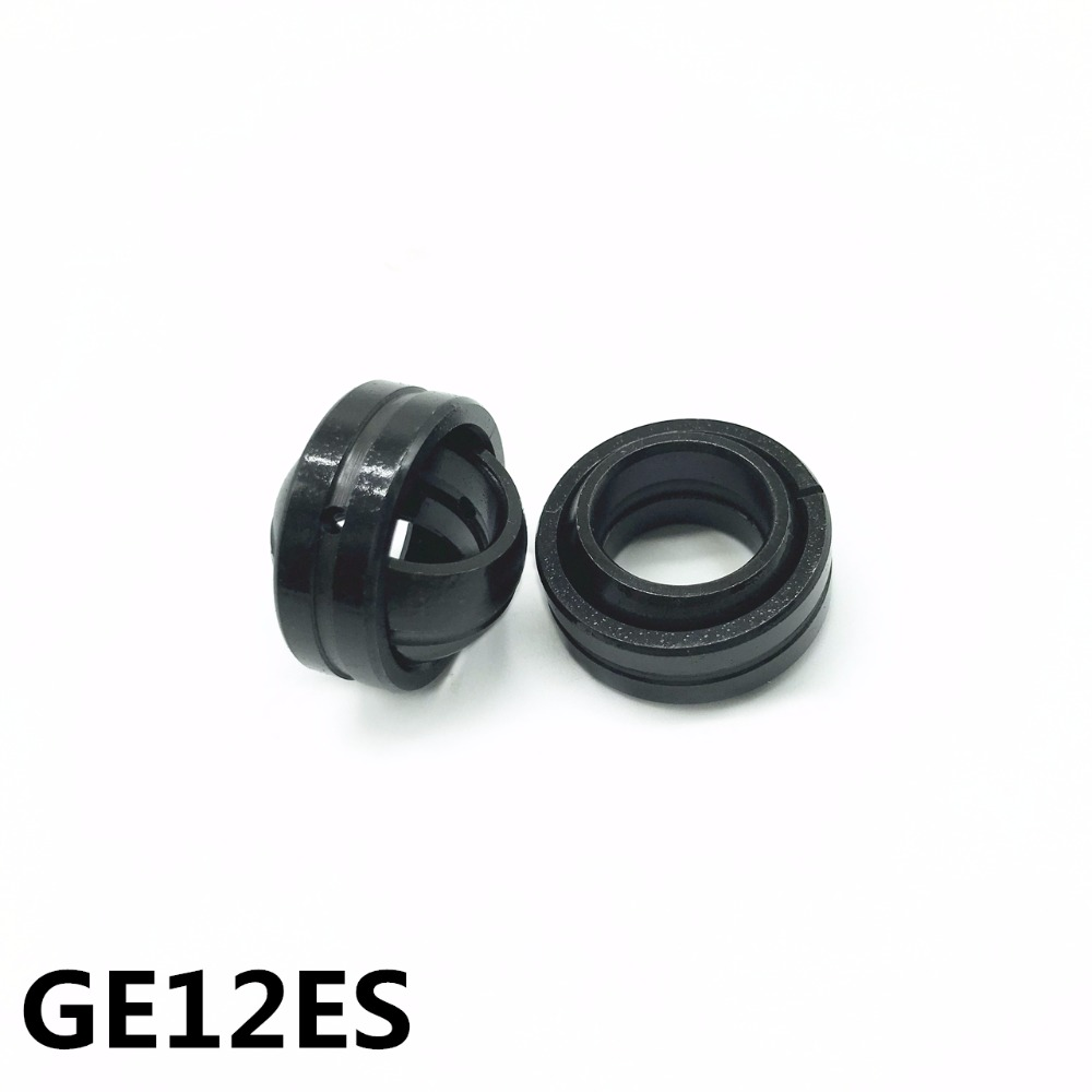 1Pcs GE12ES 12x22x10 Mm Spherical Plain Radial Bearing High Quality  GE12E GE12