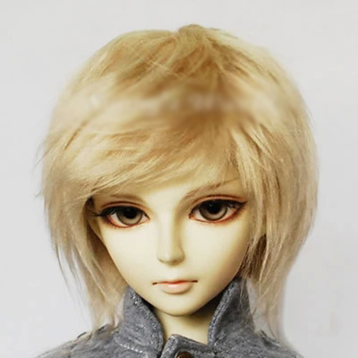 Champagne Feather 1 8 1 4bjd Sd Bjd Sd Baby Doll Wig Hh83 In