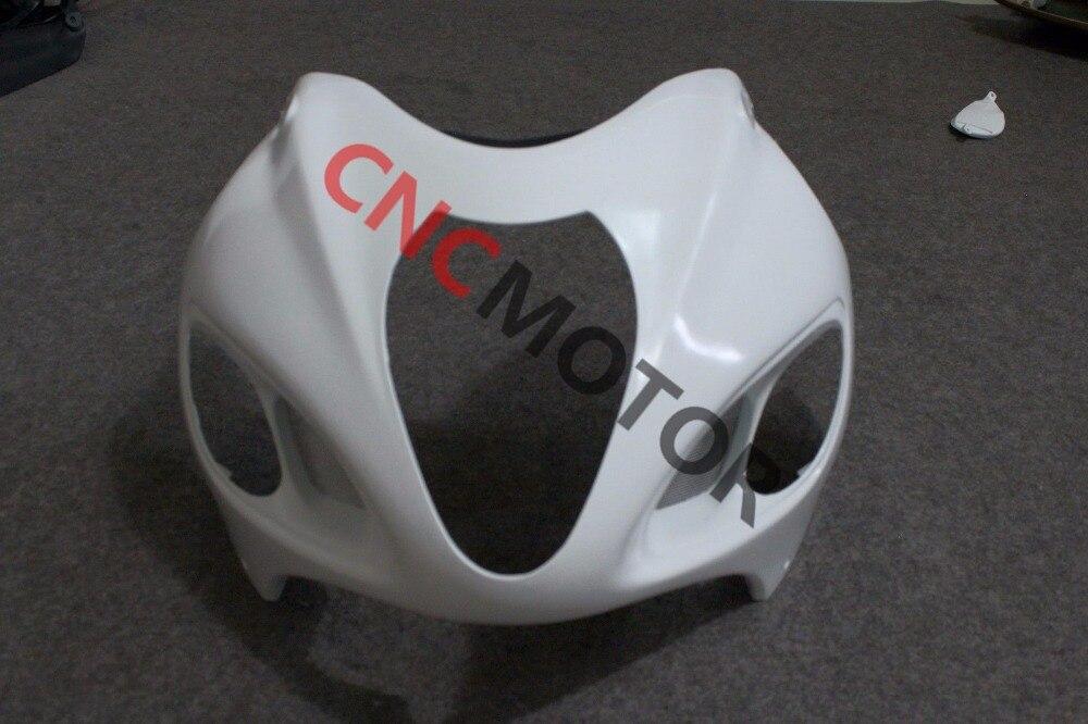 Неокрашенный передний обтекатель Верхний обтекатель для Suzuki ХАЯБУСА GSXR1300R 1999-2007 99-00-01-02-03-04-05-06-07