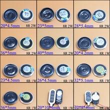 YuXi 8 Ohm 2W 1W 8R 1/2W, 20mm, 22mm, 23mm 26mm 28mm 32mm 36mm diámetro de 40mm altavoz