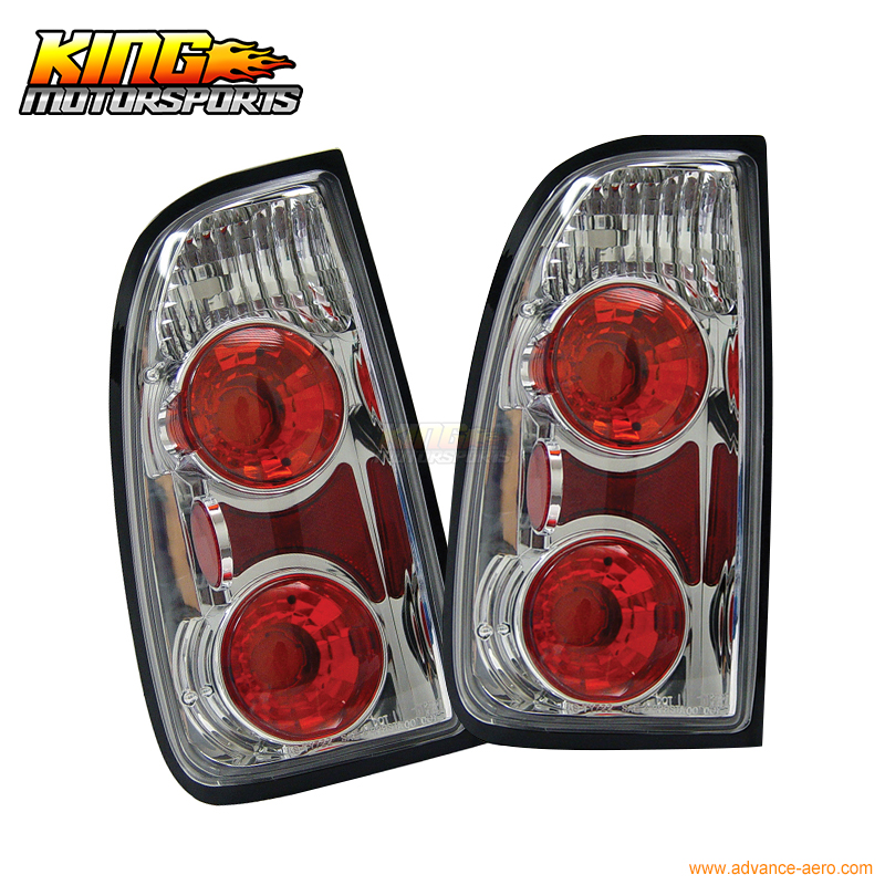 For 00-01 02 03 04 Toyota Tundra Tail Lights Lamps Chrome USA Domestic Free Shipping barrow double s series 240mm high density double wave copper water cooler