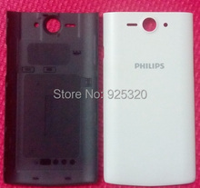 Free shipping, Original back cover for Philips S388 Cellphone,4.5″ , Battery Case for Xenium CTS388 mobile phone
