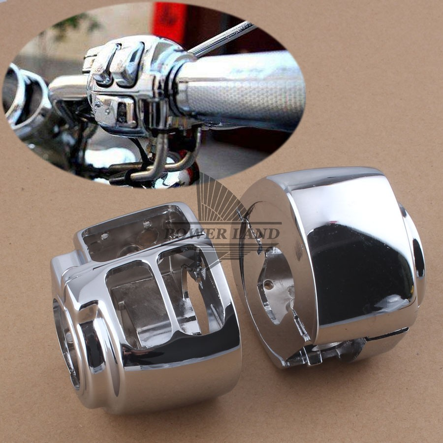Covers & Ornamental Mouldings Switch Housings Cover For 2009 Later Harley Dyna Sportsters Softail V-rod And Touring Models Discounts Price Frames & Fittings