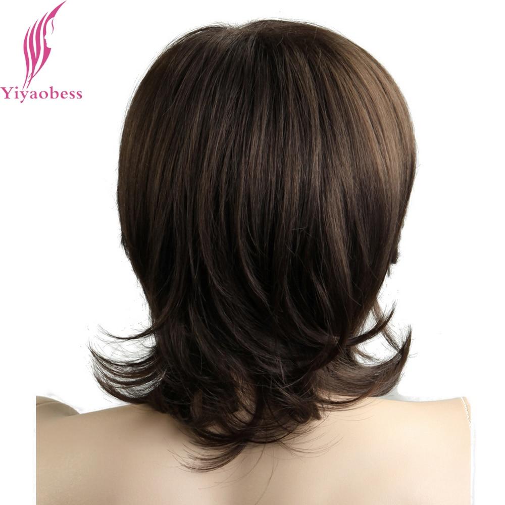 Yiyaobess 12 ιντσών Μικρή Κυματιστή Μικρή - Συνθετικά μαλλιά - Φωτογραφία 5