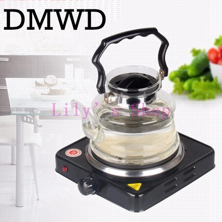 Multifunction mini household Electric stove small electric household furnace thermostat hot milk cooker travel Hot Plate EU plug stainless steel electric double ceramic stove hot plate heater multi cooking cooker appliances for kitchen 220 240v vde plug