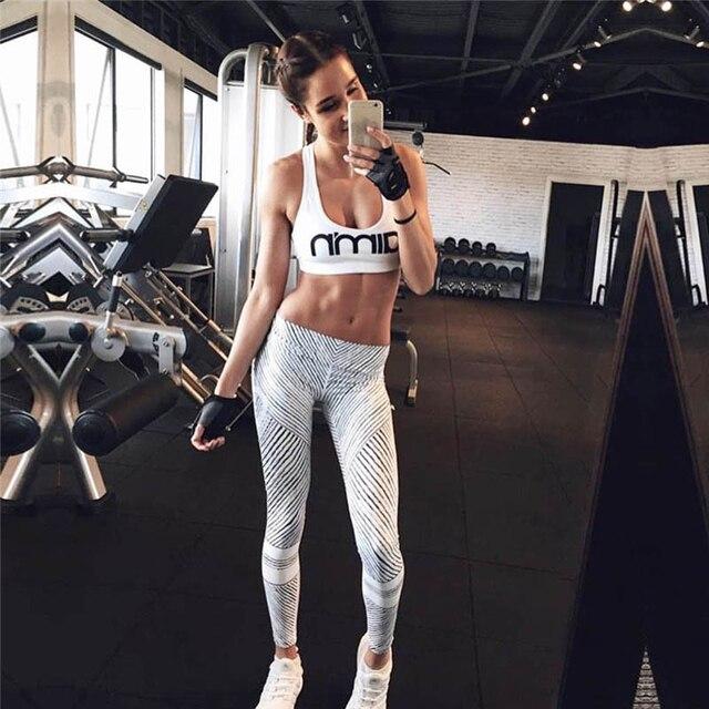 HflyluY 2017 Mujeres Sexy leggins de Fitness Encuadre de cuerpo ...