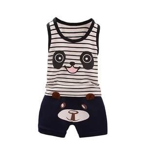 WEIXINBUY 2pcs Cotton Summer Children Vest Baby Clothes eee17b7057156