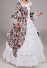 White Victorian Princess Cotton&Lace Solid Ball Gown Vantage Skirt Retro Petticoat Vanessa Custom Make Size