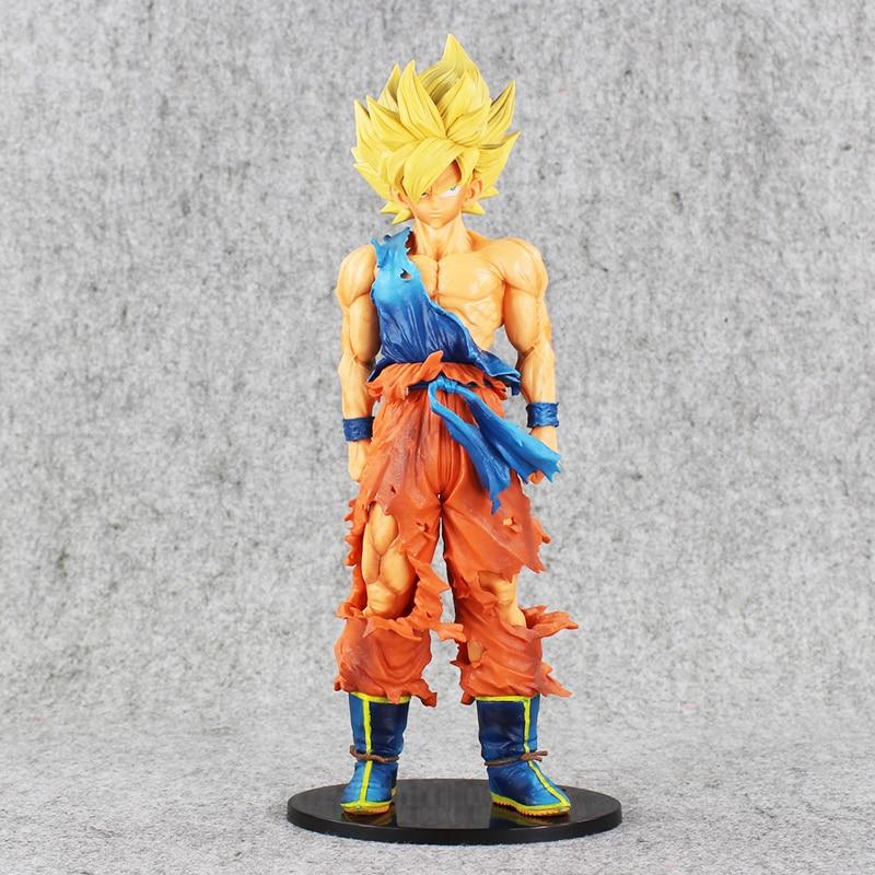 ФОТО Dragon Ball Z 35cm Big Size Sun Goku Childhood Edition PVC Action Figure Collectible Model Toy Doll Birthday Gift juguetes