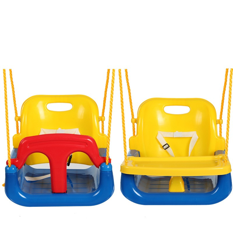 4 en 1 bébé balançoires avec assiette pour bébé enfants jardin parc jeu jouer chaise berçante jeux de plein air balançoires