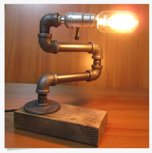 Vintage Industrial Retro Style Adjustable Steel Pipe Desk ...