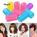 6pcs/pack DIY Plastic Magic Hair Curling Rollers Hair Styling Roller Curlers Clips Cosmetic Hair Rollers For Women Makeup