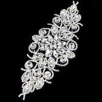 2Pcs Rhinestone Applique Flatback Shine Crystal Rhinestone Button For Girl Wedding Party Decoration