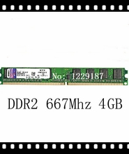 A+Brand New Memory Ram DDR2 4G 667Mhz PC2-5300 For desktop computer, memoria ram for all motherboard Wholesale