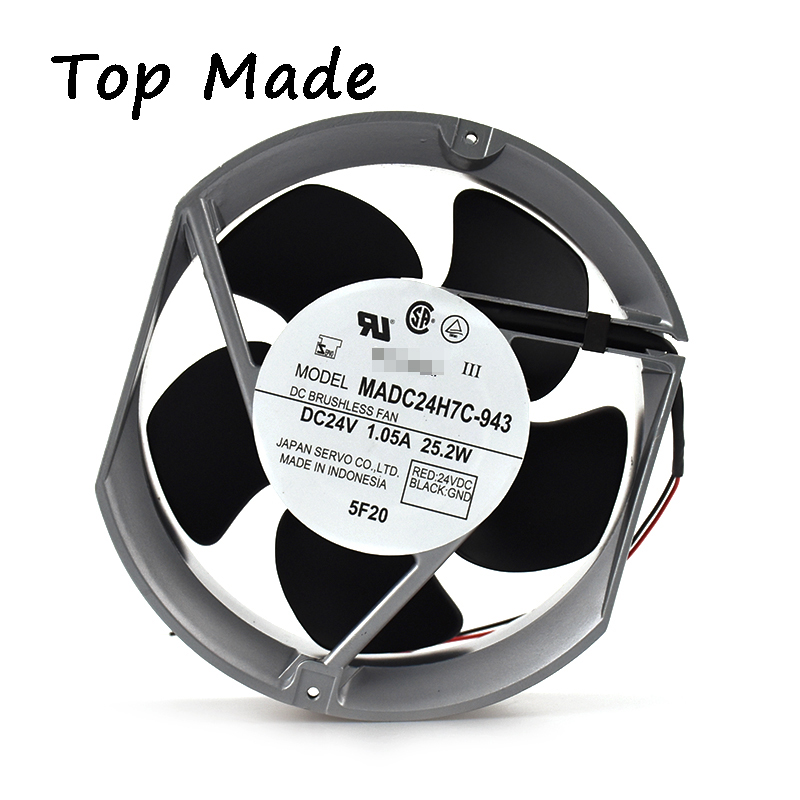 US $52 51 11% OFF|For SERVO fan MADC24H7C 943 24V 1 05A Inverter cooling  fan-in Fans & Cooling from Computer & Office on Aliexpress com | Alibaba