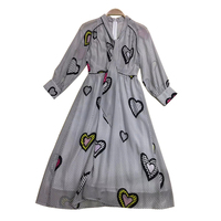 Print Long Dresses 2019 Summer Women Dress Maxi Vintage V neck Full Sleeve Tunic Bridesmaids Beach Vestidos Verano 2018 Bandage