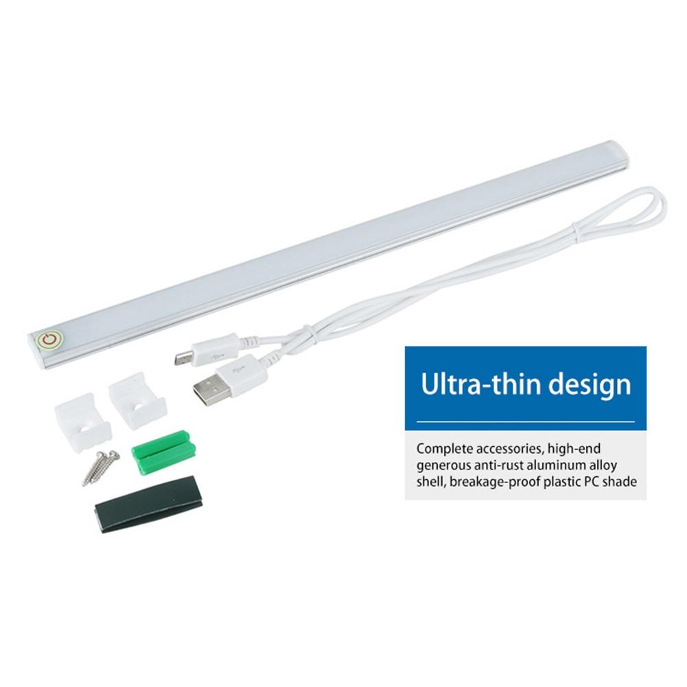 21 LEDs Innovative Led lichtleiste DC 5 V Berührungssensor Dimmbar ...