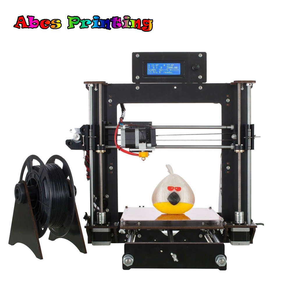 цена Mini 3D Printer Lastest A8 MK8 Prusa i3 3D Printer DIY Kit Durabel motor with 30g FREE PLA Stampante 3D
