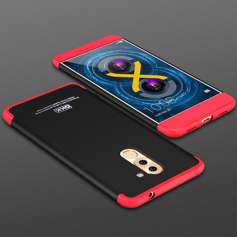 GKK NEW Shield Series Honor6X  Phone Case For Huawei Honor 6X Case Thin GR5 2017 Mate 9 Lite Phone Cover Matte Cases Fundas