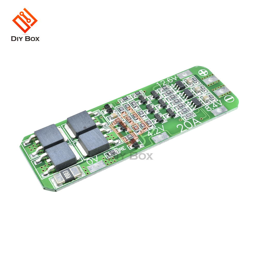 12 6V 3S 20A Cell 18650 Li-ion Lithium BMS Protection