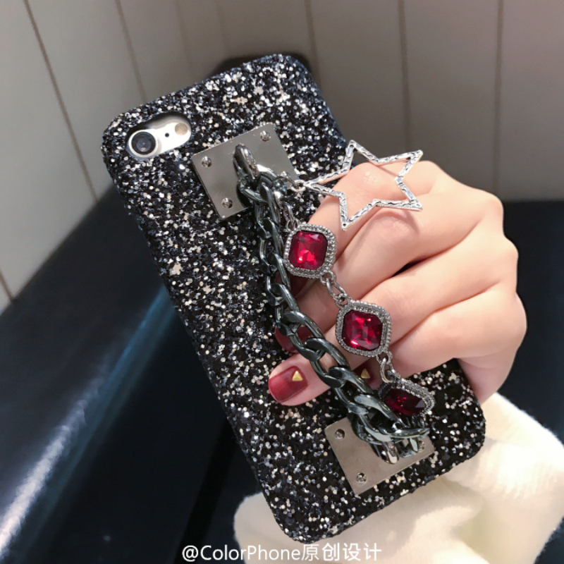 712383c435b TANZ Phone Cases for iPhone 7 Plus 3D Bling Luxury Rhinestone Stars ...