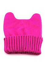 Women's Warm Winter Cat Ear Shape Knitted Hat