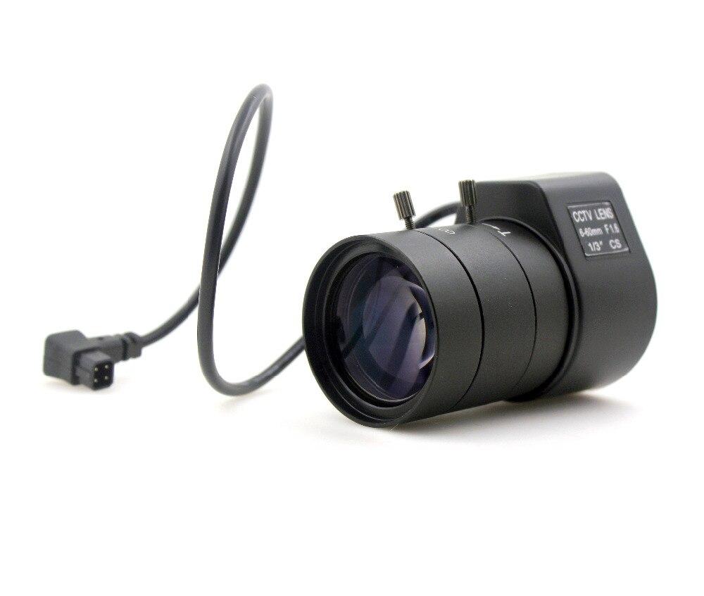 "Image 4 - 1.3MP 1/3"" 6 60mm F1.6 CS Mount DC Auto Iris Varifocal IR CCTV Lens for Box Body Cameralens hood for canonlens swablens hoods for nikon lenses -"