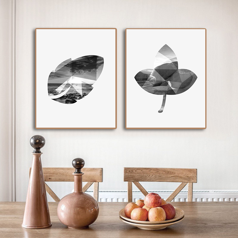 Laeacco Abstract Scenery Nordic Decoration Canvas Prints Picture Poster Oil Painting For Bedroom Living Room Home Wall Decor Art in Painting Calligraphy from Home Garden