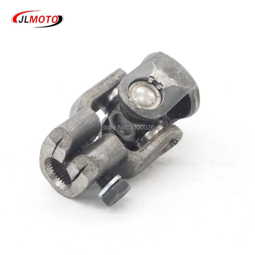 30 t 14/15mm d fosfatando universal bola de direção u comum apto para atv utv go carrinho de golfe buggy utilitário terreno peças do veículo