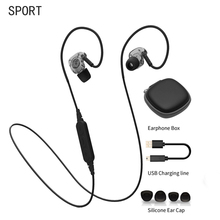 Bluetooth Earphone Headphones Wireless Sport Headphone Noise Reduction Running Stereo Balance Bass With Mic Headset  For Phone