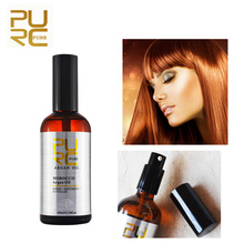 PURC Moroccan Argan Oil for Hair Care and Protects Damaged Hair for Moisture Hai