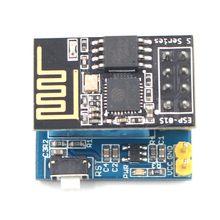 ABHU-ESP8266 ESP-01S Серийный беспроводной приемопередатчик+ DHT11 монитор температуры и влажности щит датчик Wifi модуль плата адаптера