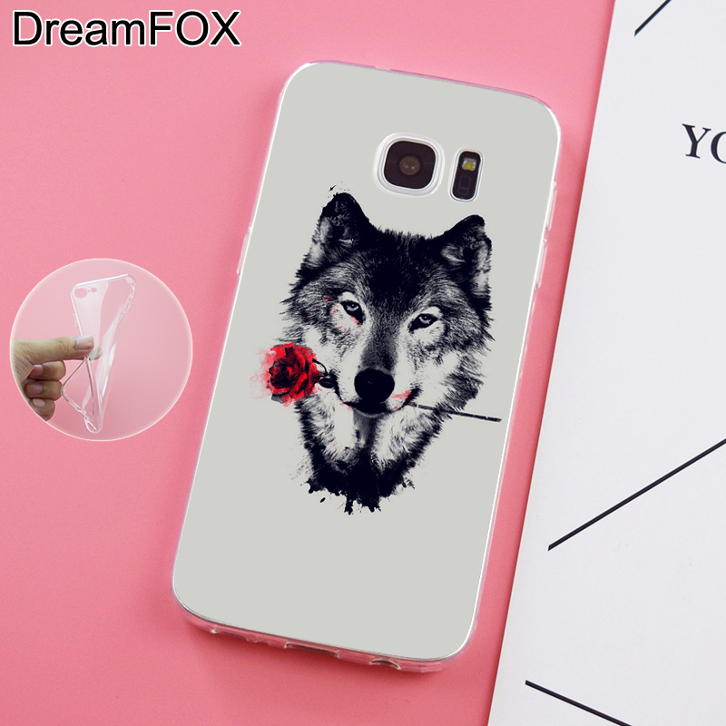 DREAMFOX K198 Sled Dogs Soft TPU Silicone Case Cover For Samsung Galaxy Note S 3 4 5 6 7 8 9 Edge Plus Grand Prime