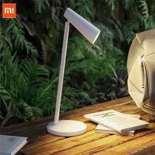 החדש Xiaomi Mijia טעינת מנורת שולחן 2000mAh USB Rechargable נייד שולחן 3 כיתה מצבי עמעום קריאת לילה אור