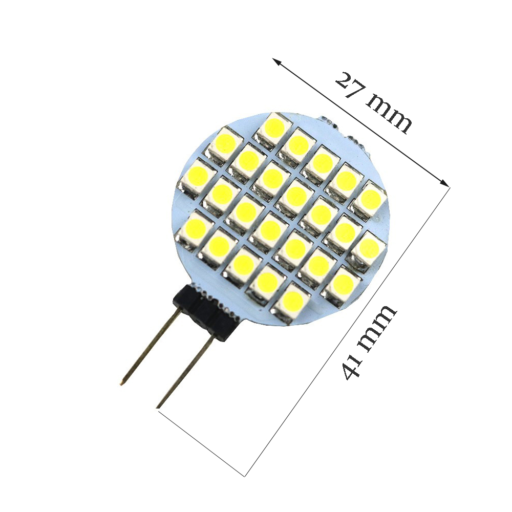 12v 4w Smd 3528 Led Light Source G4 Spotlight Lamps Corn Bulb For Driver Powers Halogen Replacement Smd5730 Scource Base Lamp 6 12 15leds Round Bi Pin Chandlier Blub Iqusd 069 149 Piece 1pcs