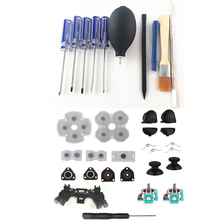 PS4 Repair Opening Tools Screwdriver Kit Precision Disassembling Tool With Repair Set Trigger Buttons 3D analog Joystick For PS4