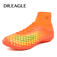 DR EAGLE Sports Shoes Indoor Boys Soccer Boy Footballs For Kids Soccer Boots Cleats Football Shoes