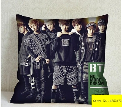 Hot Sale Bangtan Boys Bts 001 Two Sides Pillow Cases For 12 14