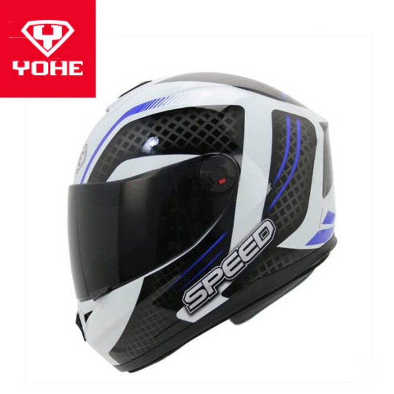 2018 Autumn Winter New YOHE Full Face Motorcycle Helmets YH-966 ABS Motocross Motorbike Helmet with PC Lens Visor have 18 colors 2017 new yohe full face motorcycle helmet motorbike racing helmets made of abs and pc lens visor model yh 991 size m l xl xxl
