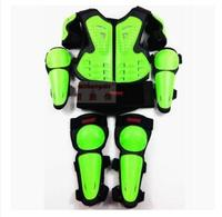 free shipping motorcycle care Off road armor clothing children 's armor protective suit sports knee care elbow 3 colors