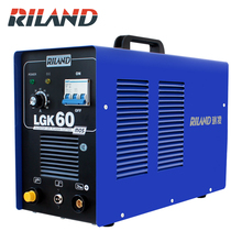RILAND 380V Three Phase Plasma Cutter Air Plasma Cutting Machine Plasma Cutter Welder Cutting Thickness 0.3-16mm Clean Cut happy shopping machines cutter cnc plasma cutter chinese brand 50 amp plasma cutting machine