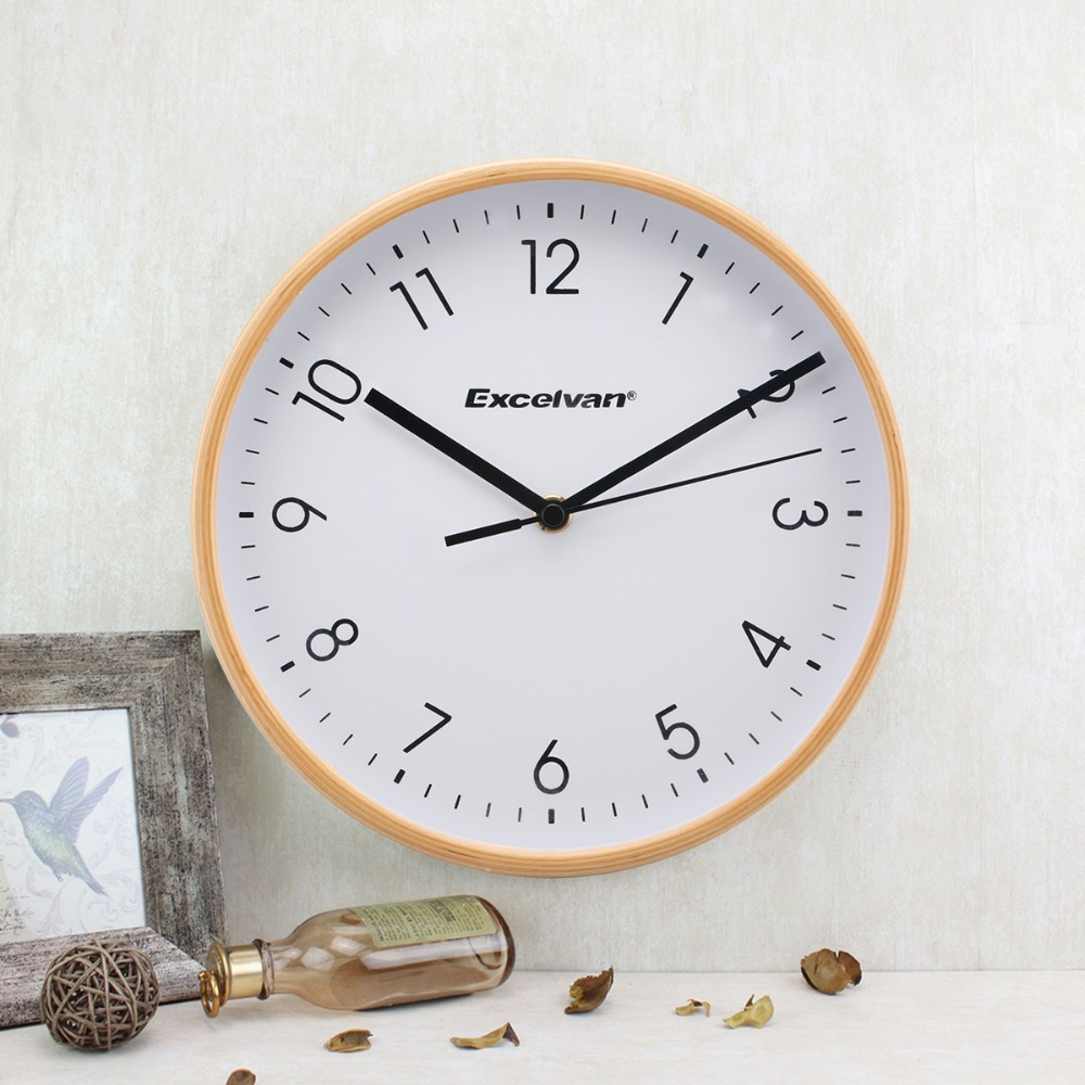 Aliexpress buy excelvan 8 wooden wall clock quartz silent aliexpress buy excelvan 8 wooden wall clock quartz silent sweep movement clock no ticking hd glass morden home wood clock green and white from amipublicfo Choice Image
