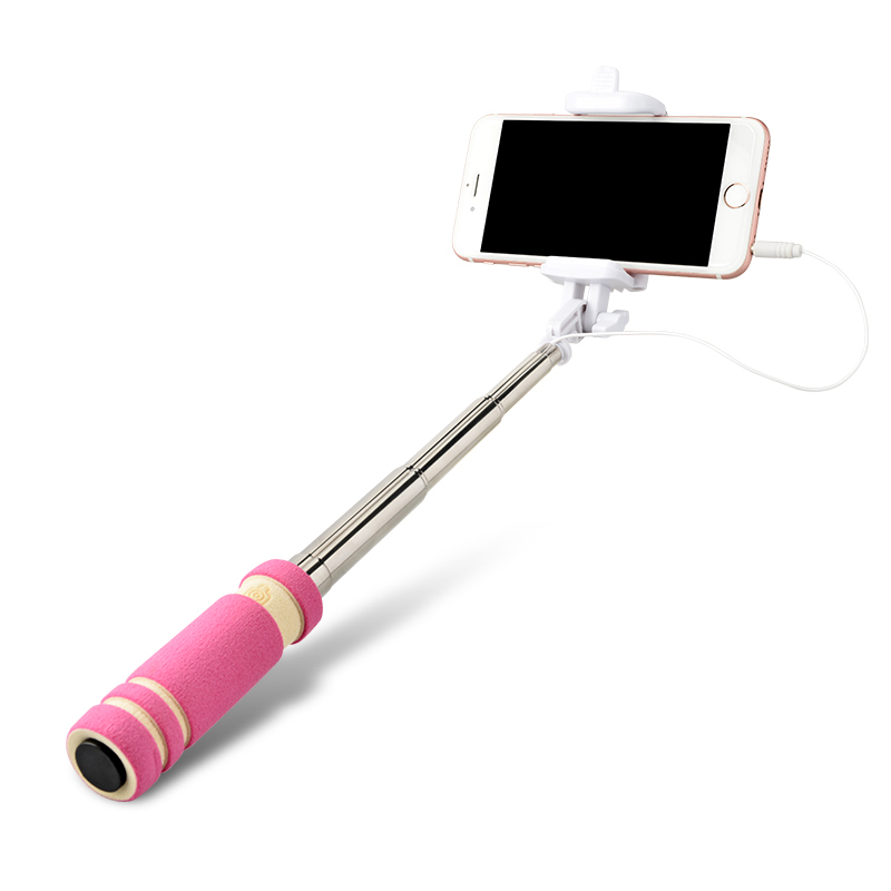 oudneas handheld camera selfie stick for iphone 6s 7 7s plus for samsung gala. Black Bedroom Furniture Sets. Home Design Ideas