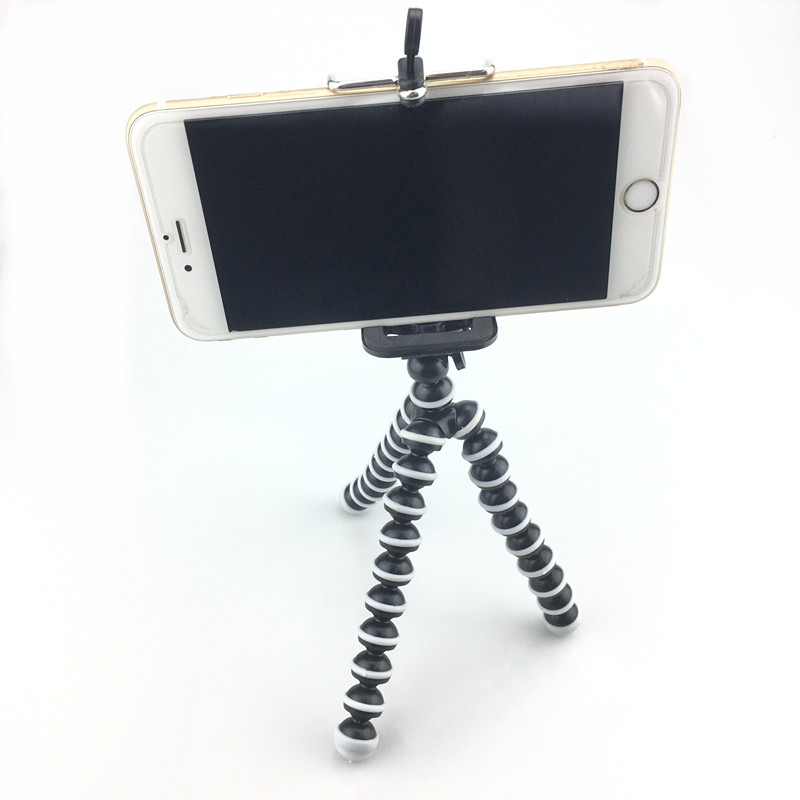 Mini Flexible Octopus Tripod for iPhone Samsung Xiaomi Huawei Mobile Phone Smartphone Tripod Camera Accessory duszake dt2 camera mini tripod for phone stand aluminum for iphone tripod for phone camera mini tripod for mobile gorillapod