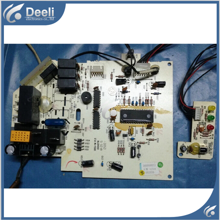 95% new good working for Gree air conditioner pc board circuit board 300556072 motherboard 5j51a gr5j-1n on sale big togo main circuit board motherboard pcb repair parts for nikon d610 slr