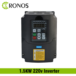 220V 1.5KW 2.2KW Single Phase input and 3 Phase Output Frequency Converter / Adjustable Speed Drive / Frequency Inverter / VFD
