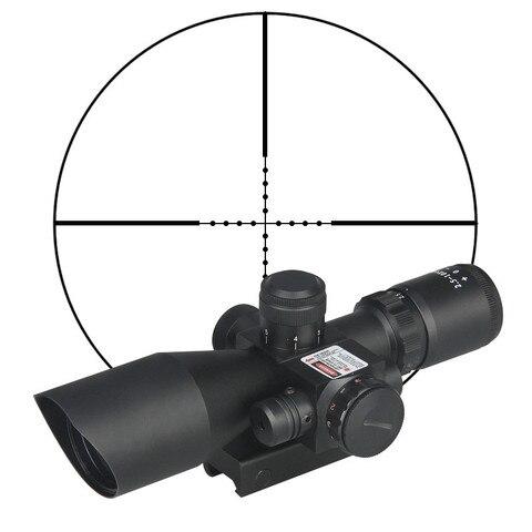 caca rifle escopo 2 5 10x40e vermelho verde iluminado crosshair sniper gun optica mira riflescopes
