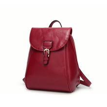 2017 New Backpacks For Women Fashion Preppy Style Sweet College Students Bags Concise Functional Zipper Female Backpacks