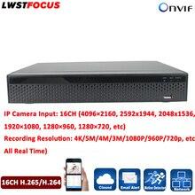 16 Canal H.265/H264 Cctv DVR NVR Grabador de Vídeo 1080 P Max 12 TB Onvif P2P Visión